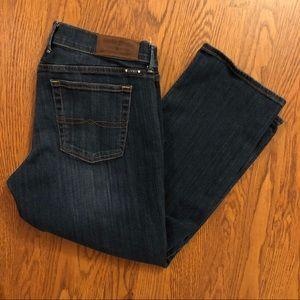 Lucky Brand Dark Wash Sweet'N Crop Jeans Size 12